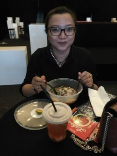 Totally enjoying my laksa