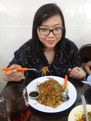 Yong Hua fried mee for breakfast